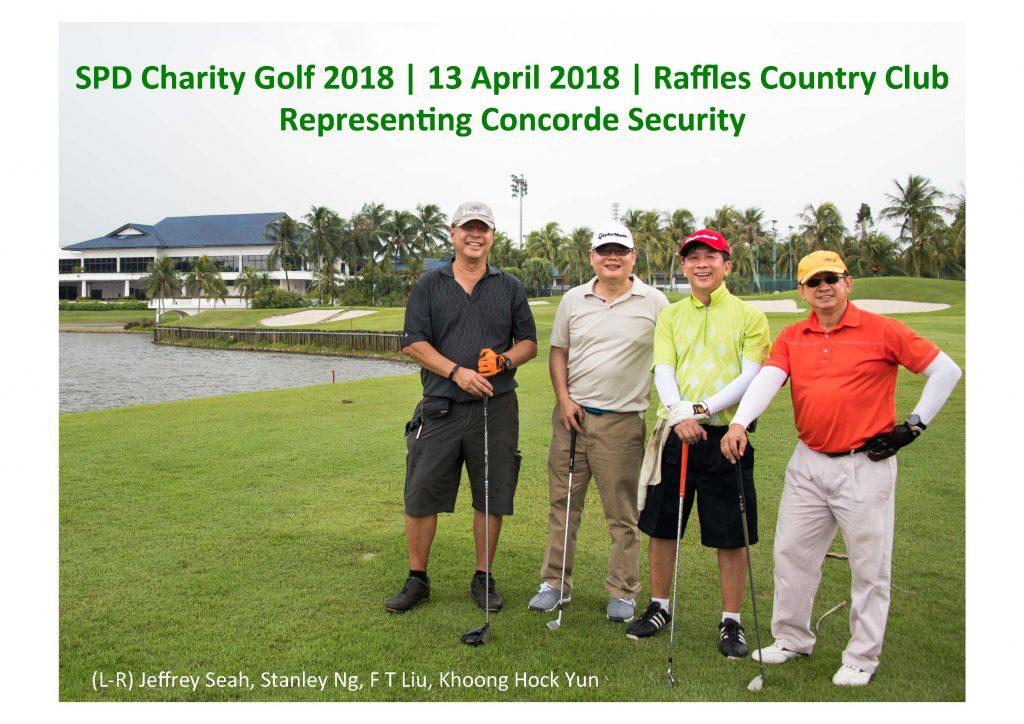 SPD Charity Golf 2018