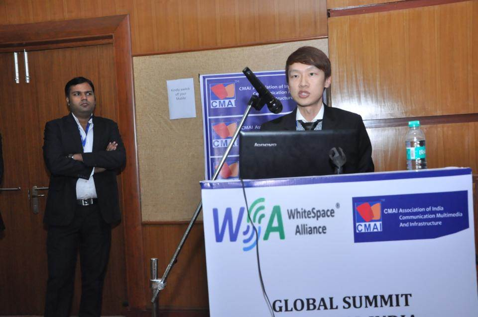 Global Summit Digital India for use of WhiteSpace