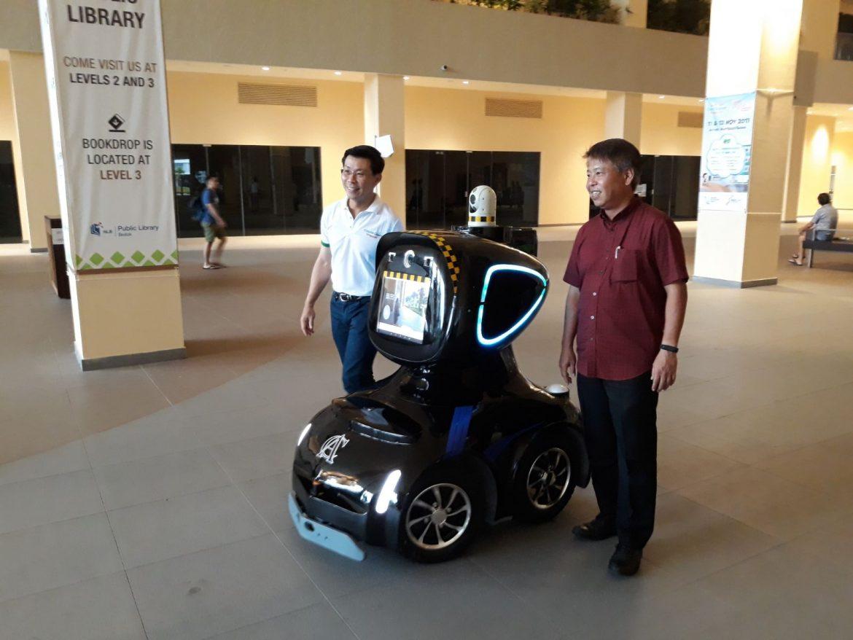 Security Robot Adam 17 7th Nov 2017