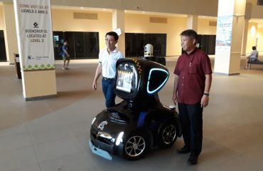 Security Robot Adam 17 7th Nov 2017