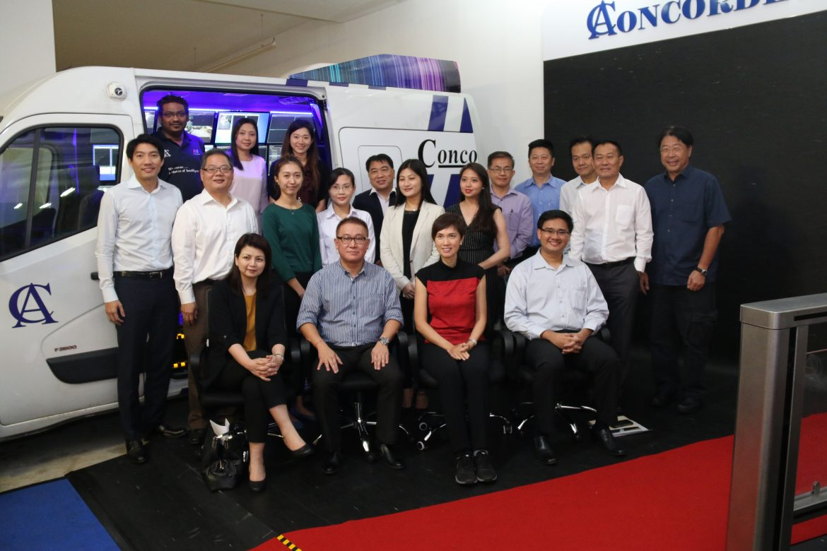 MP Josephine Teo visits Concorde Security